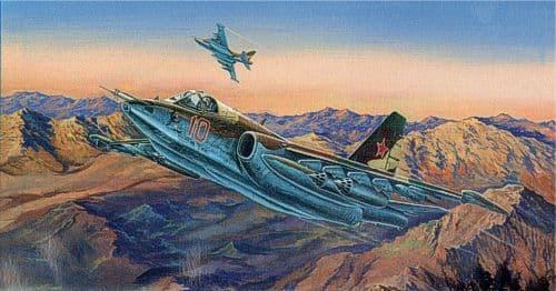 Trumpeter 1/32 Sukhoi Su-25K Frogfoot A # 02276
