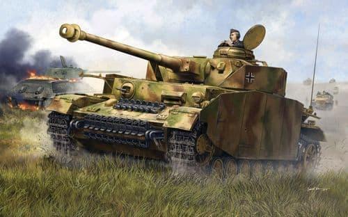Trumpeter 1/35 Pz.Kpfw.IV Ausf.H German Medium Tank # 00920