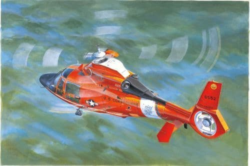 Trumpeter 1/35 USN Coast Guard HH-65C Dolphin # 05107