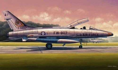 Trumpeter 1/48 F-100F Super Sabre 2 Seater # 02840