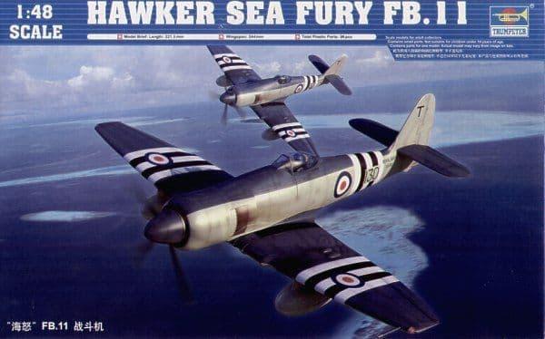 Trumpeter 1/48 Hawker Sea Fury FB.11 # 02844