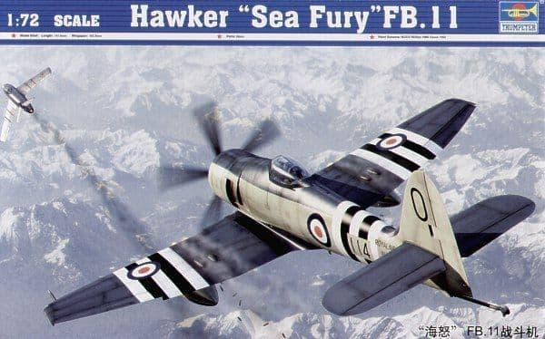Trumpeter 1/72 Hawker Sea Fury FB.11 # 01631