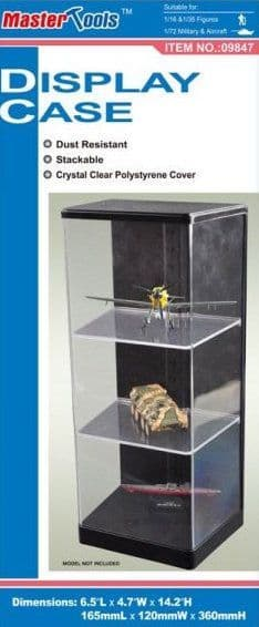 Trumpeter - Display Case 165 x 120 x 360mm # 09847