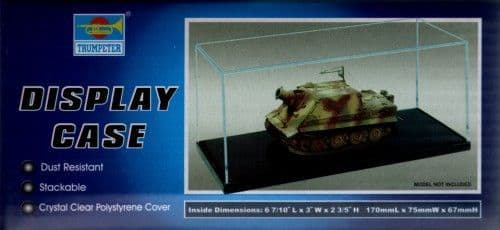 Trumpeter Display Case 170 x 75 x 67mm # 09816