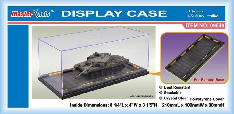 Trumpeter - Display Case 210 x 100 x 80mm # 09848