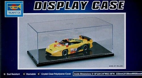 Trumpeter - Display Case L232mm x W120mm x H86mm # 09813