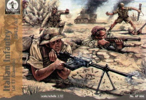 Waterloo 1815 1/72 WWII Italian El Alamein 1942/43 # AP006