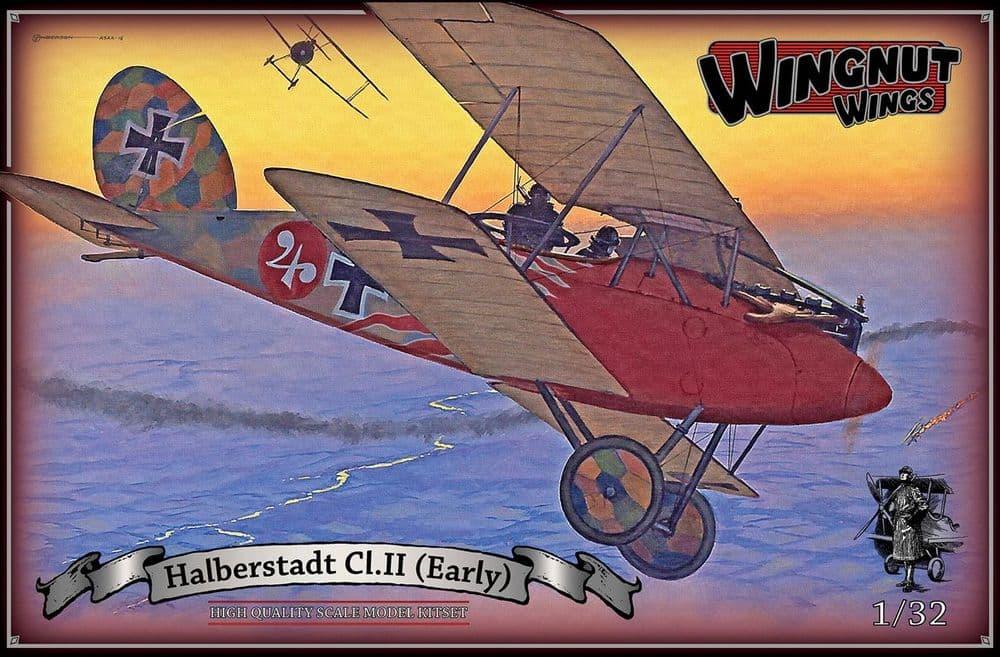 Wingnut Wings 1/32 Halberstadt Cl.II (Early) # 32049