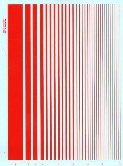 Xtradecal - Parallel Stripes Red # PS4
