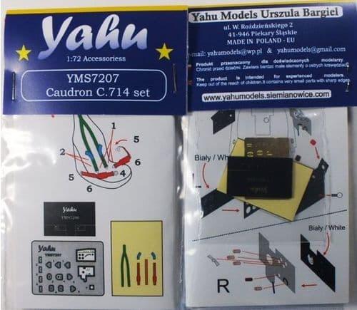 Yahu Models 1/72 Caudron Cr.714 Details # YMS7207