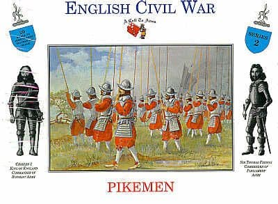 A Call To Arms 1/32 English Civil War Royalist Musketeers # 3203