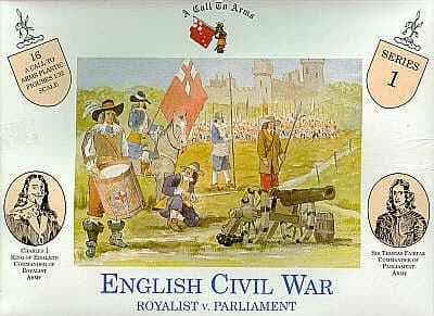 A Call To Arms 1/32 English Civil War Royalist v Parliament # 3201