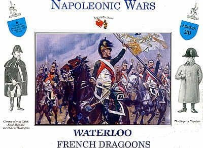 A Call To Arms 1/32 Napoleonic Waterloo French Dragoons # 3220