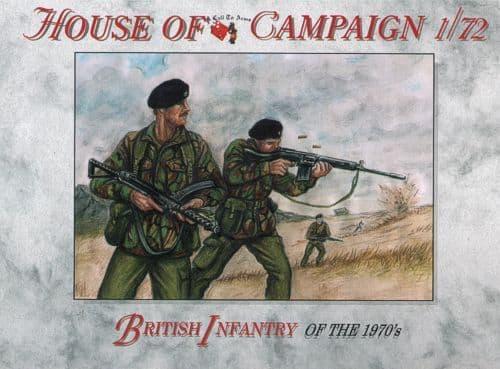 A Call to Arms 1/72 House of Campaign British Infantry of the 1970's # 7267