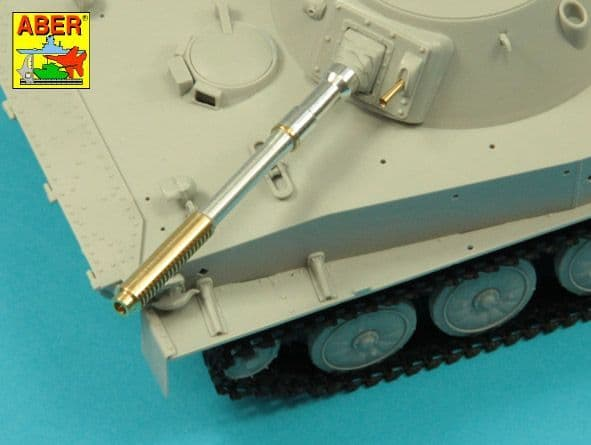 Aber 1/35 76.2mm D-56T barrel for Soviet PT-76 mod.1951 # 35L309