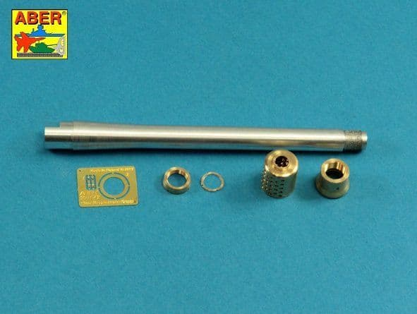 Aber 1/35 85mm 2A62 Barrel for Soviet 2S14 Zhalo-S A/T Gun # 35L296