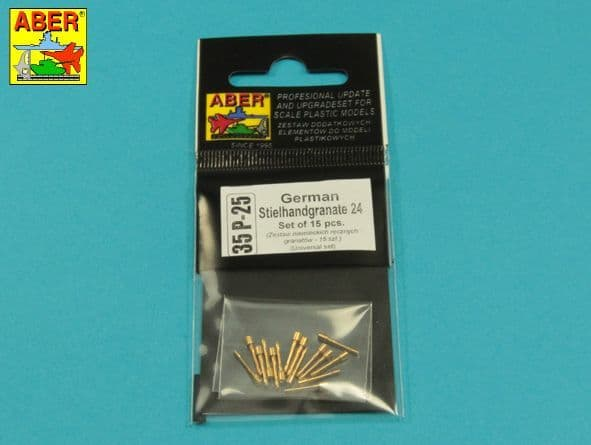 Aber 1/35 German Stielhamdgranate 24 (15 pcs.) # 35P25