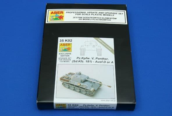 Aber 1/35 Pz.Kpfw.V Panther (Sd.Kfz.181) Ausf.A/D Upgrade Set # 35K02