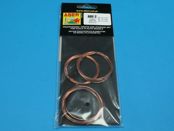 Aber - Wires Set (Diameter: 0,8; 1,0; 1,2mm x Length: 1m each) # ADZ-2