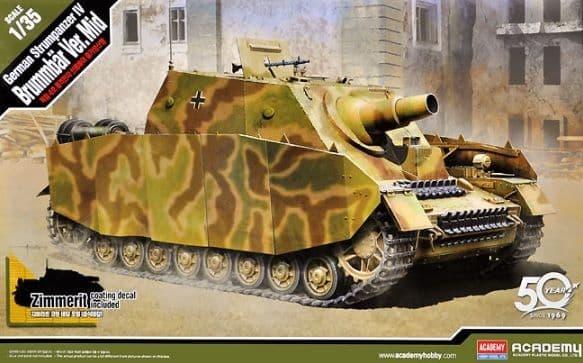 Academy 1/35 German Brummbar Sd.Kfz.166 Early # 13525