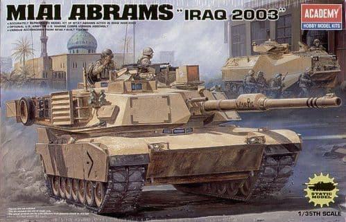 Academy 1/35 M1A1 Abrams Iraq 2003 Version # 13202