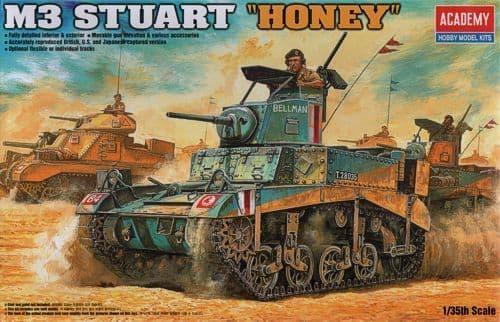 Academy 1/35 M3 Stuart Honey # 13270