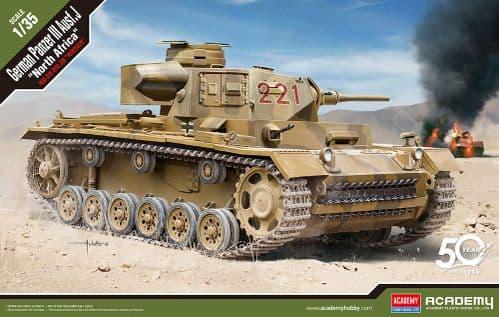 Academy 1/35 Pz.Kpfw.III Ausf.J