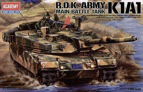 Academy 1/35 R.O.K. Army K1A1 Main Battle Tank # 13215