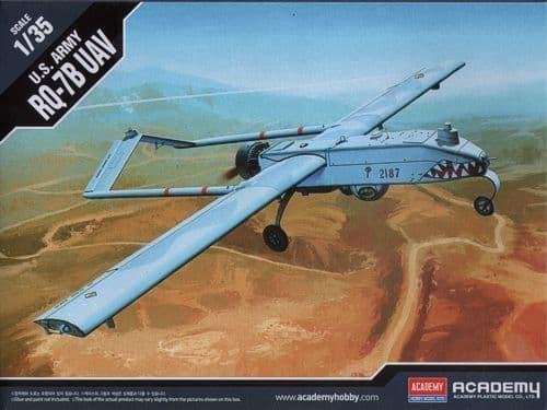 Academy 1/35 RQ-7B Shadow UAV U.S. Army Unmanned Aerial Vehicle # 12117