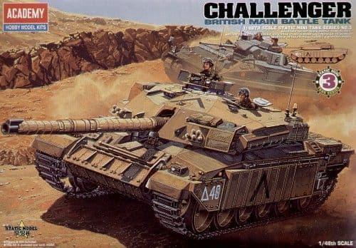 Academy 1/48 British Challenger Main Battle Tank # 13007