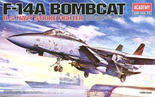 Academy 1/48 F-14A Bombcat # 12206