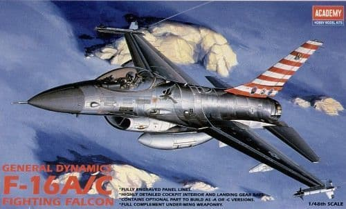 Academy 1/48 F-16A/C Fighting Falcon # 12259