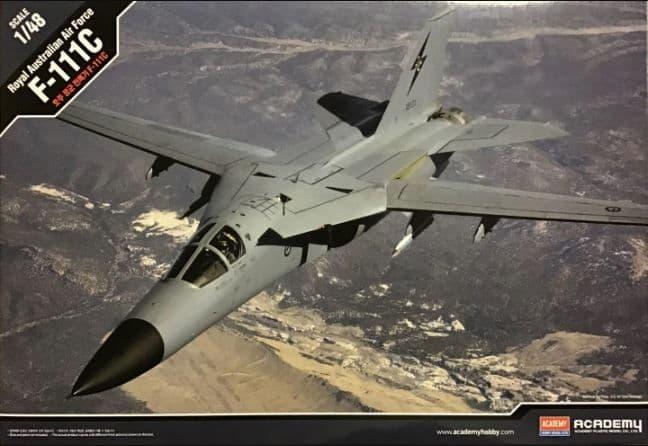 Academy 1/48 General-Dynamics F-111C Aardvark Royal Australian Air Force # 12220