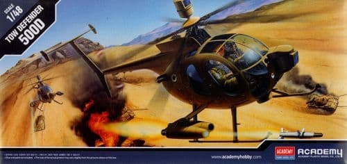 Academy 1/48 Hughes 500D TOW Helicopter # 1644