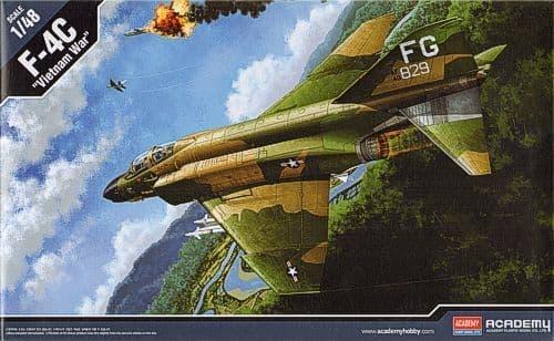 "Academy 1/48 McDonnell-Douglas F-4C Phantom ""Vietnam War"" # 12294"