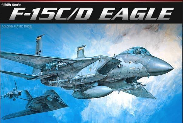 Academy 1/48 McDonnell F-15C/D Eagle # 12257