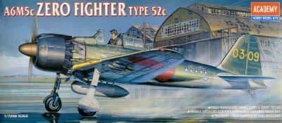 Academy 1/72 A6M5C Zero Fighter Type 52C # 12493