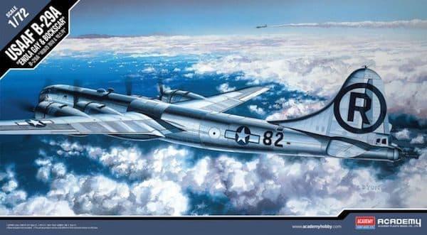 """Academy 1/72 Boeing B-29A USAAF """"Enola Gay & Bockscar"""" # 12528"""