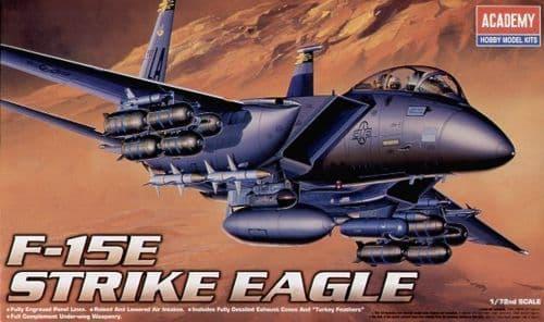 Academy 1/72 F-15E Strike Eagle # 12478