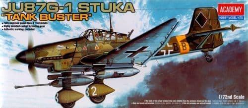 Academy 1/72 Junkers Ju 87G-1 'Stuka' Tankbuster # 12450