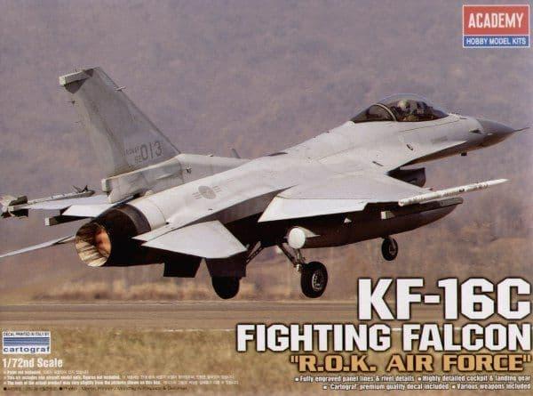 "Academy 1/72 KF-16C Fighting Falcon ""R.O.K. Air Force"" # 12418"