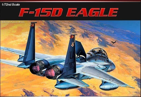 Academy 1/72 McDonnell F-15D Eagle # 12477