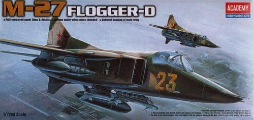 Academy 1/72 MIG-27 Flogger D # 12455