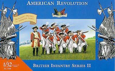 Accurate Figures 1/32 American Revolution British Infantry Series II # 3208