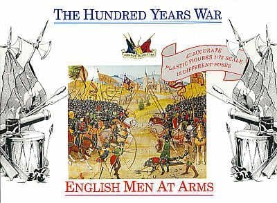 Accurate Figures 1/72 English Men At Arms 100 Years War # 7206