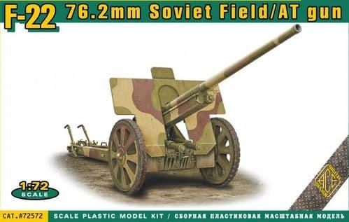 Ace 1/72 F-22 76.2mm Soviet Field/AT Gun # 72572