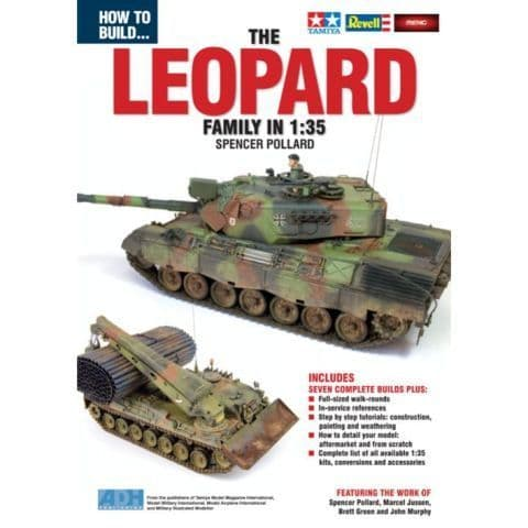 ADH Publishing - How to Build The Leopard Family in 1:35 Spencer Pollard # 065