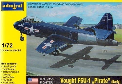 Admiral 1/72 Vought F6U-1 Pirate (Early) # 7211