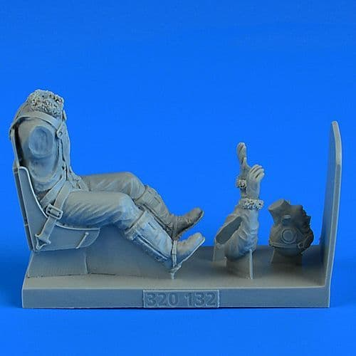 Aerobonus 1/32 USAAF WWII Pilot with Seat for North-American P-51D Mustang # 320132
