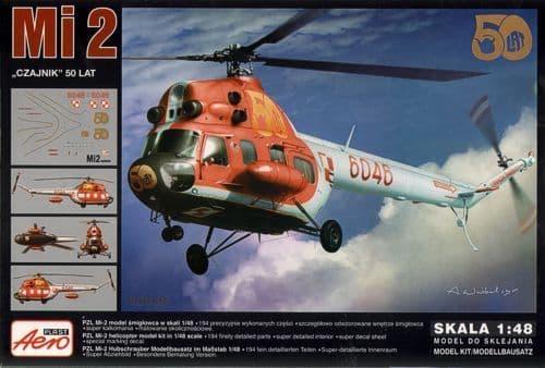 Aeroplast 1/48 Mil Mi-2 Helicopter 50 Years # 90039
